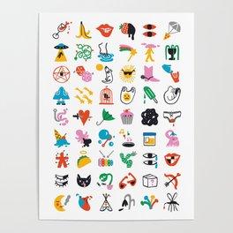 Relevant Symbols Poster