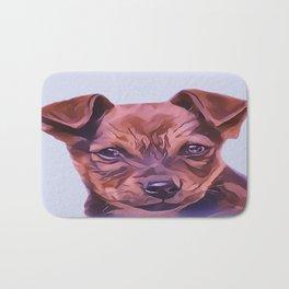 The Airedale Terrier Puppy Bath Mat