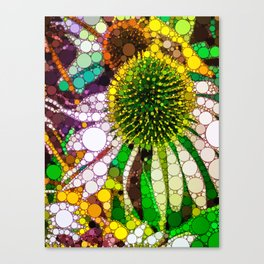 Prickly flower to you Canvas Print