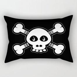 Skull & Bones Tattoo Rectangular Pillow