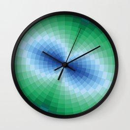 Blue-green fantasy Wall Clock