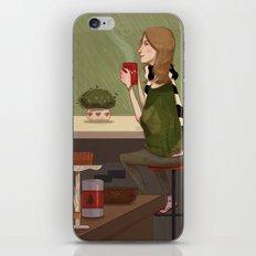 Coffee + Rain iPhone & iPod Skin