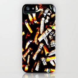 Abstract Cancer iPhone Case