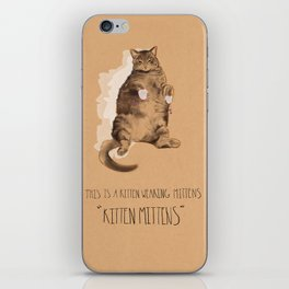 Kitten Mittens iPhone Skin