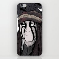johnny depp iPhone & iPod Skins featuring Lone Ranger Johnny Depp by  Steve Wade ( Swade)