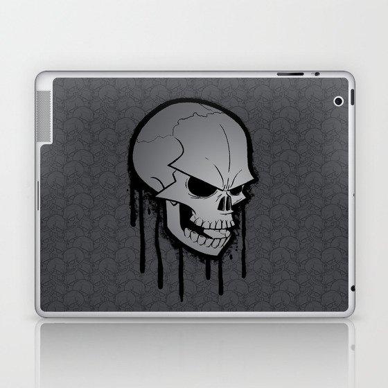 Skull Face Laptop & iPad Skin
