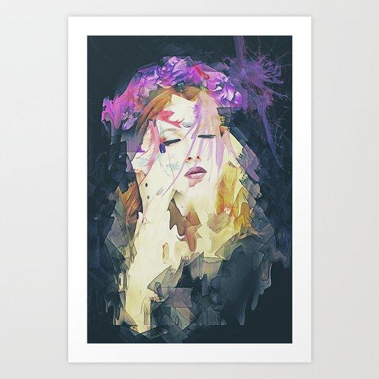Path - Abstract Portrait Art Print