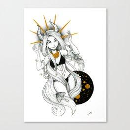 Golden Gal Canvas Print