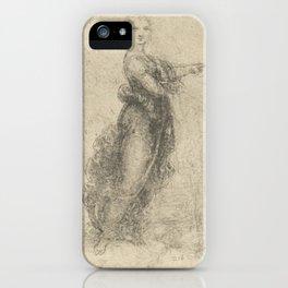Woman - Leonardo Da Vinci iPhone Case
