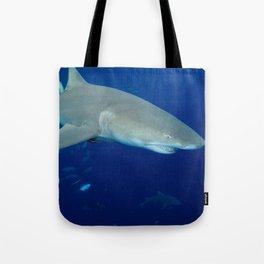 Deep Blue Lemon Tote Bag
