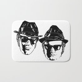 The Blues Brothers - Can You See The Light? Bath Mat