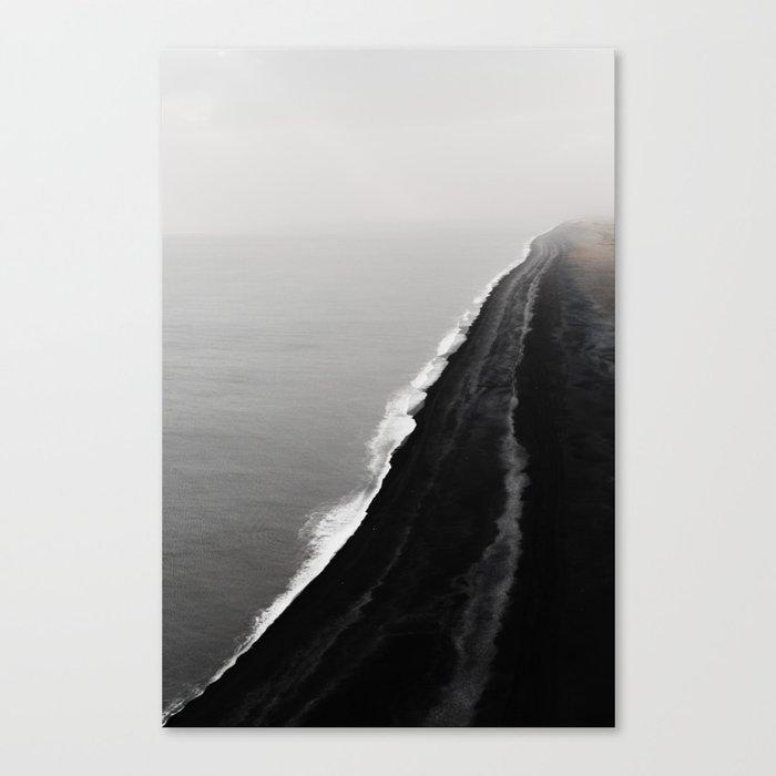 BLACK SAND BEACH Leinwanddruck