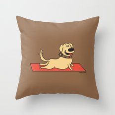 Up Dog Throw Pillow