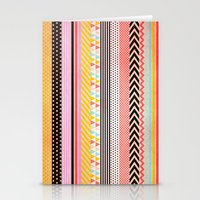 tape Stationery Cards featuring Washi Tape by Louise Machado