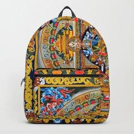 Buddhist Mandala Gold Tangka Wisdom Backpack