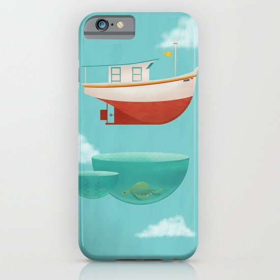 Floating Boat iPhone & iPod Case