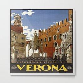 Vintage poster - Verona Metal Print