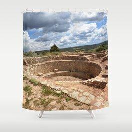 Dominguez-Escalante Ruins of the Anasazi, No. 1 of 7 Shower Curtain