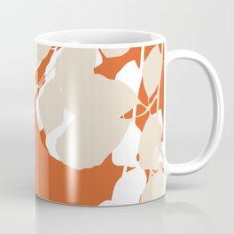 leaves rust and tan Coffee Mug