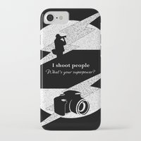 aperture iPhone & iPod Cases featuring I Shoot People by LLL Creations