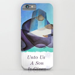 The Miracle Of Christmas iPhone Case