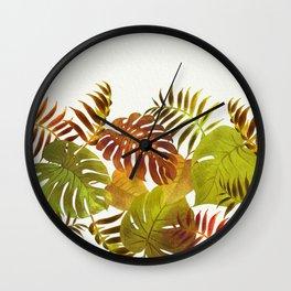 My Tropical Garden 19 Wall Clock