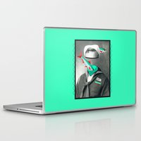 marine Laptop & iPad Skins featuring Sardine marine by AmDuf