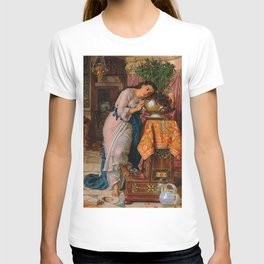 """William Holman Hunt """"Isabella and the Pot of Basil"""" T-shirt"""