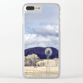 """Purple Hills Horizon"" by Murray Bolesta! Clear iPhone Case"
