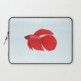 betta splendens red male Laptop Sleeve