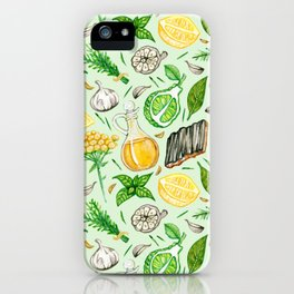 Healing Protection Potion Ingredients iPhone Case