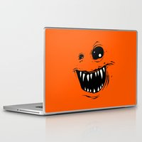 monty python Laptop & iPad Skins featuring Monty by Nicholas Ely