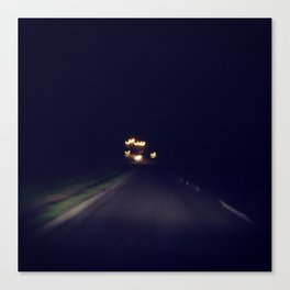 The Lights in the Distance Photograph Canvas Print
