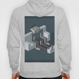 Couch slouch pixel artwork Hoody