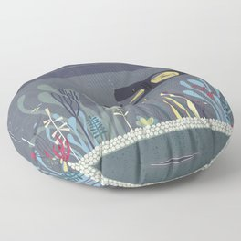 The Fishtank Floor Pillow