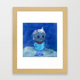 Moonkhin 6 (Iridum Ash) Framed Art Print