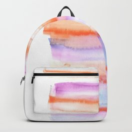 171122 Self Expression 4 | Abstract Watercolors Backpack