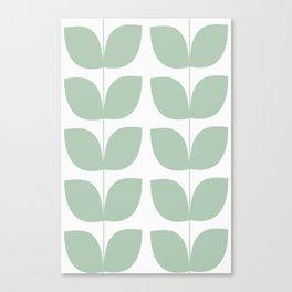 Mid Century Modern Leaves 02 #society6 #buyart Canvas Print
