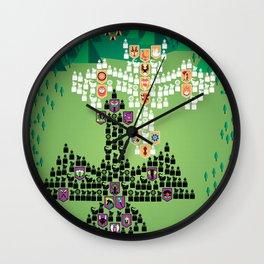 Mahabharata War - 2nd Day Wall Clock