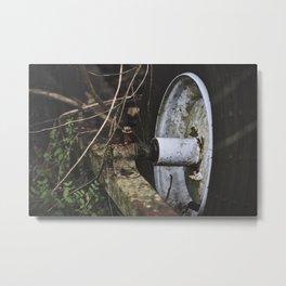 Overgrown || Metal Print