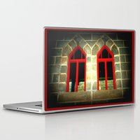 medieval Laptop & iPad Skins featuring Medieval Windows by Chris' Landscape Images & Designs