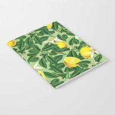 Lemonade || #society6 #decor #pattern Notebook