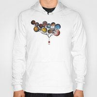 cosmic Hoodies featuring A Cosmic Incident by Efi Tolia