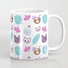 Pirate Cat // White Coffee Mug