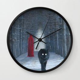A Winters Tale Wall Clock