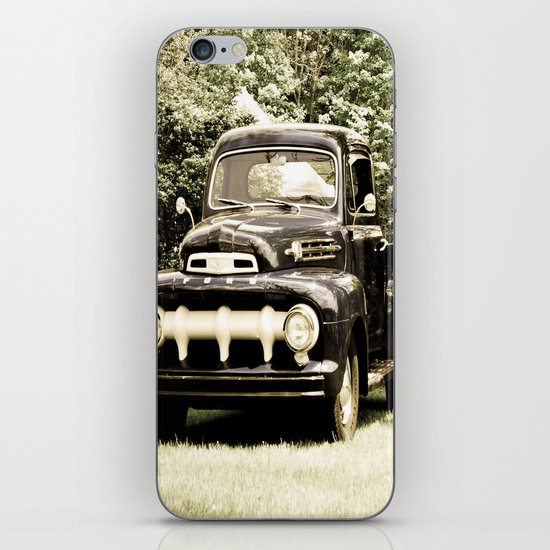 Ford in a Field iPhone & iPod Skin