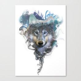 Wolf - Spirit Animal Canvas Print