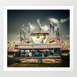 Fair Food  Art Print