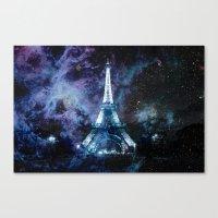 paris Canvas Prints featuring Paris dreams by 2sweet4words Designs