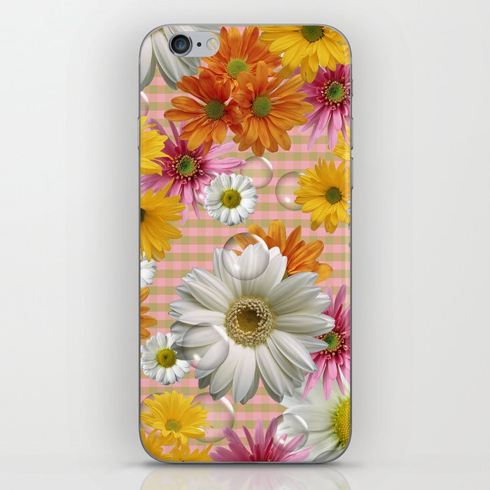 Retro Country Flowers iPhone Skin